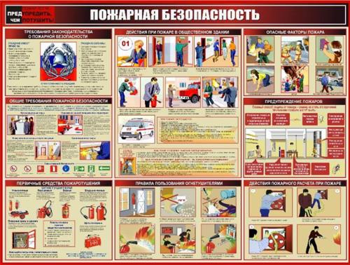 Стенд <noindex>«Пожарная безопасность» ST-015</noindex>
