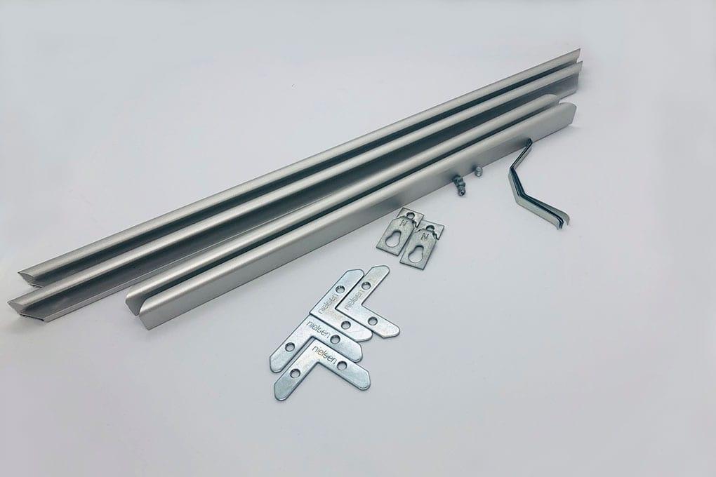 Алюминиевая рамка плана эвакуации