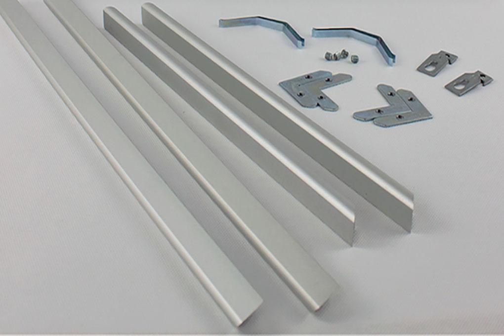 Алюминиевая рамка фотолюминесцентного плана эвакуации