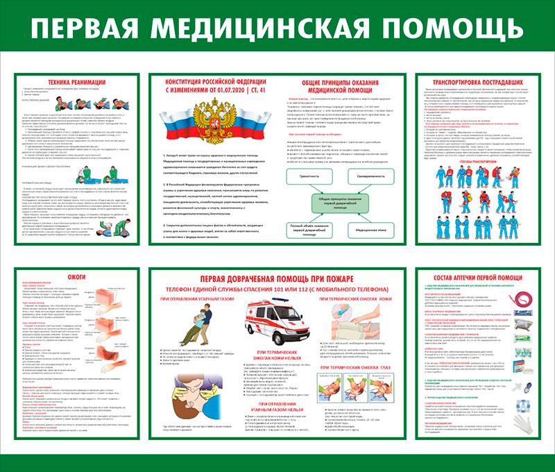 Стенд медицинский информационный // 100х85см // №2