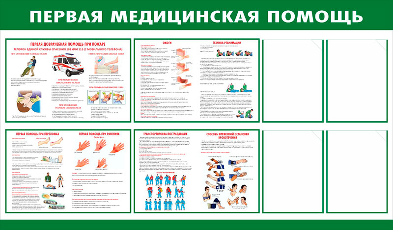 Стенд медицинский // 145х85см // №1