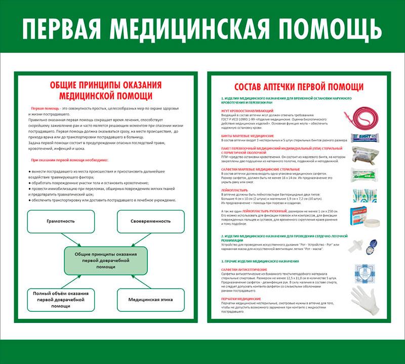 Стенд медицинский информационный // 50х45см // №2