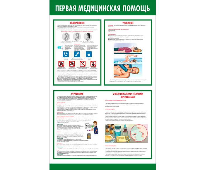 Стенд медицинский информационный // 50х80см // №2