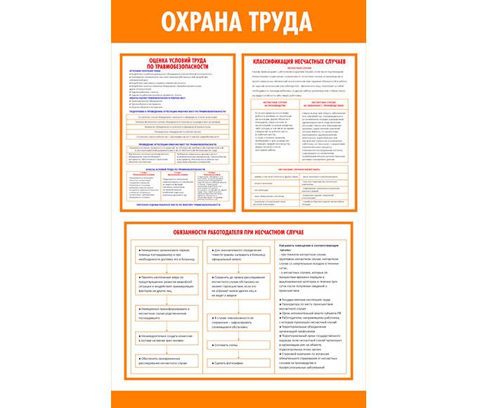 Информационный стенд по охране труда // 50х80см // №2