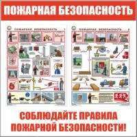 Стенды пожарной безопасности